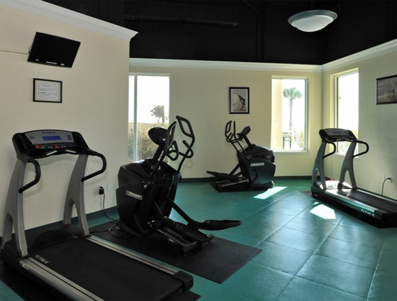 Get your extra workout in the gym at Beach Colony in Perdido Key FL