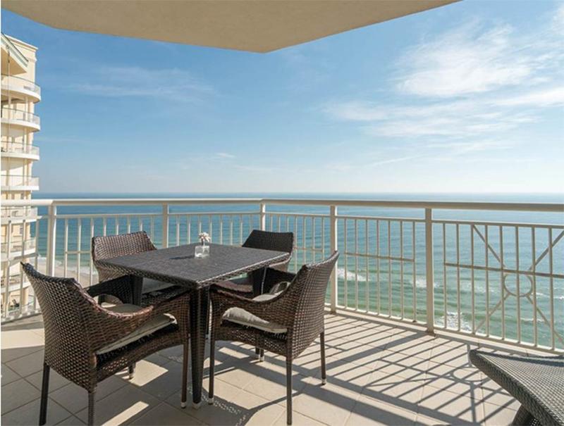 Enjoy direct views of the Gulf from your balcony at  Indigo Condo in Perdido Key Florida