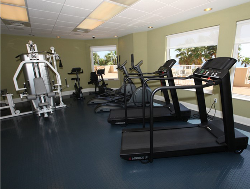 Work out and then relax at the beach when you stay at  Indigo Condo in Perdido Key Florida