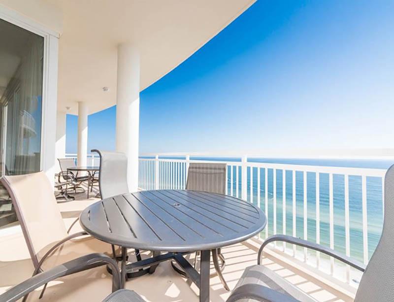 Enjoy an amazing view from your balcony at La Playa in Perdido Key Florida