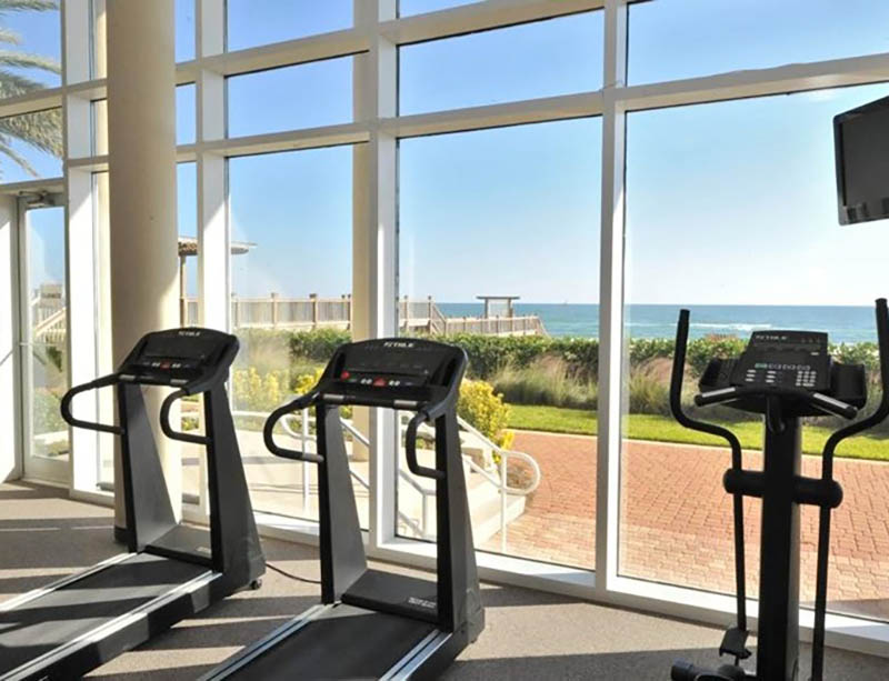 It will be easy to get your gym time in at La Playa in Perdido Key Florida