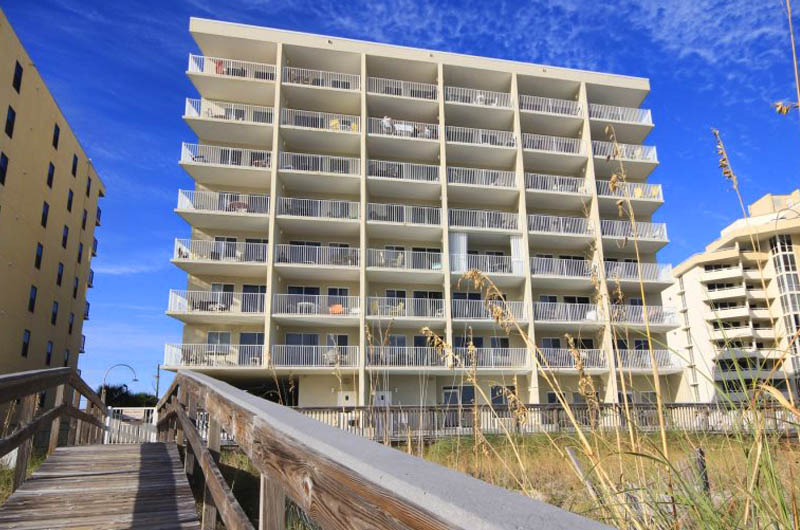 Easy walk from the beach to Perdido Skye Condominiums Perdido Key Florida
