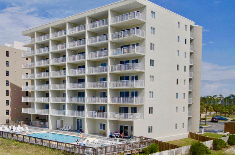 Pool is convenient to Perdido Skye Condominiums Perdido Key Florida