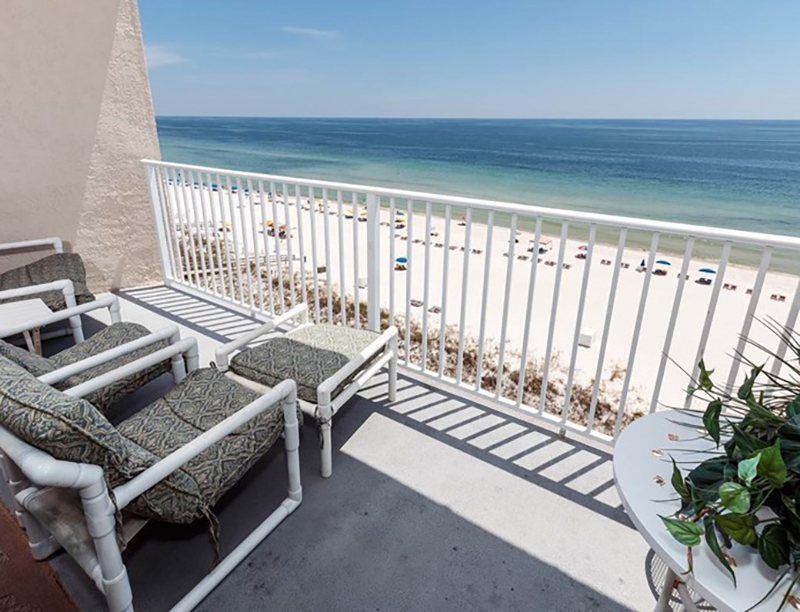 Wonderful view of the Gulf from Perdido Skye Condominiums Perdido Key Florida