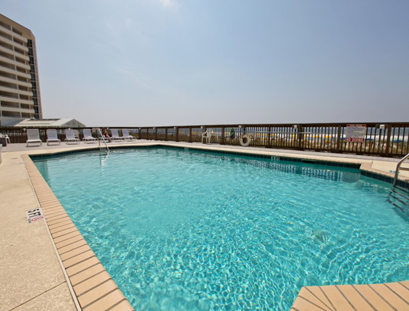Lovely pool facing the beach at Perdido Skye Condominiums Perdido Key Florida