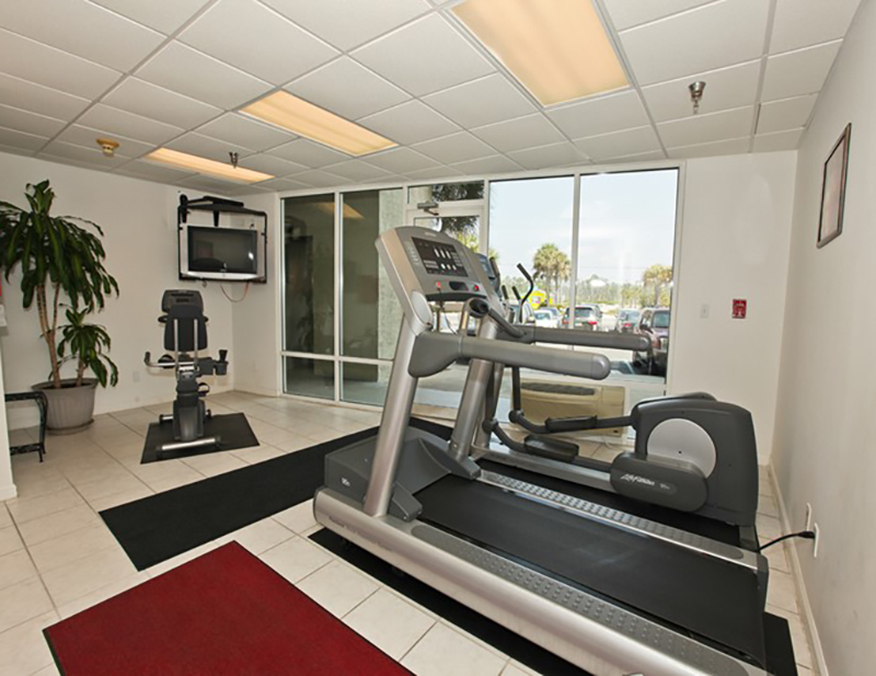Don't forget to workout while at Perdido Skye Condominiums Perdido Key Florida