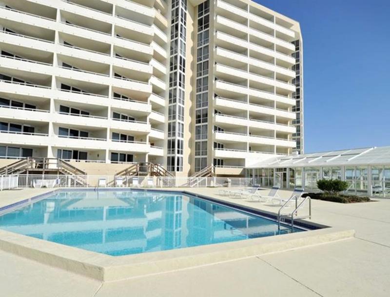 Pool at Perdido Sun Condominiums in Perdido Key Florida
