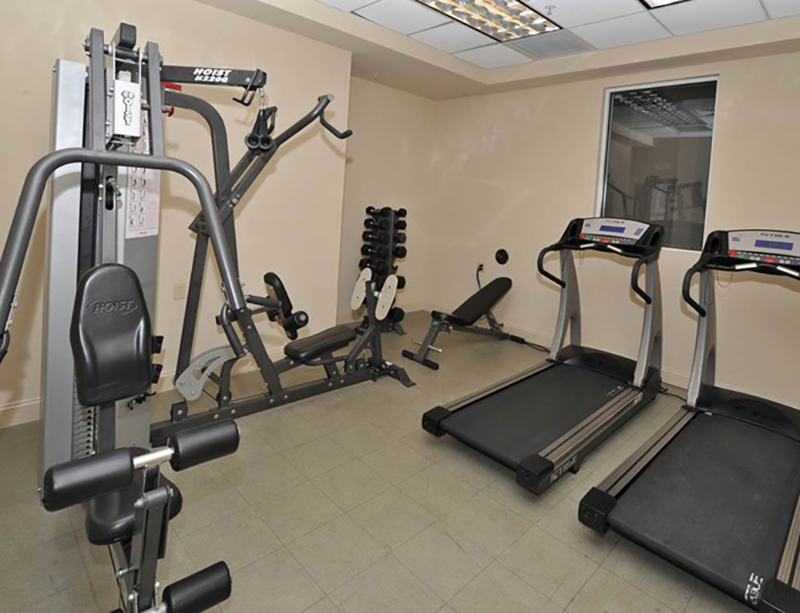 You can get your workout in even while you are away from home at Perdido Sun Condominiums in Perdido Key Florida