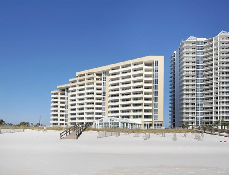 You will be directly beach from at Perdido Sun Condominiums in Perdido Key Florida