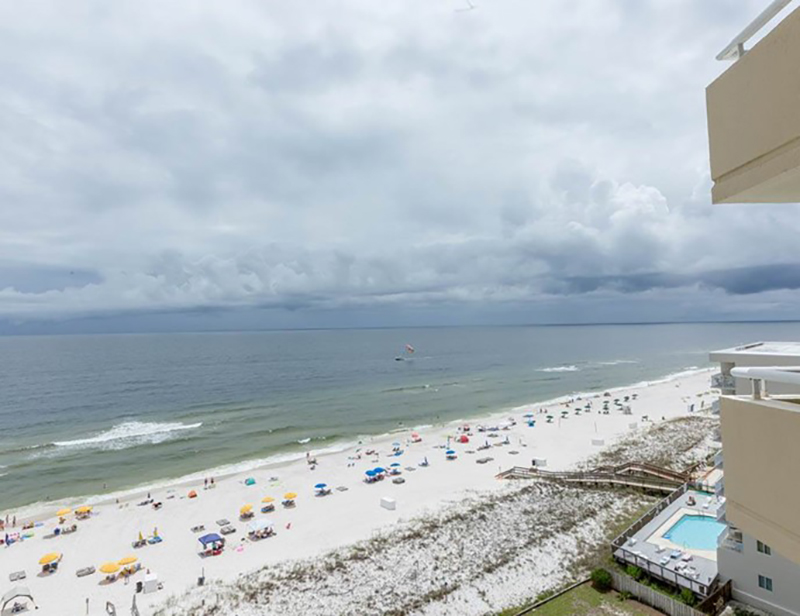 Take in th view from your balcony at Perdido Sun Condominiums in Perdido Key Florida