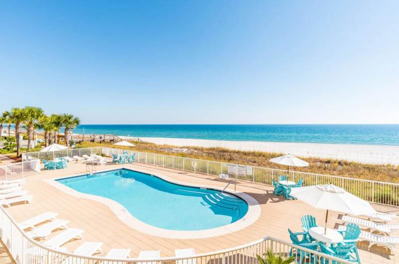 Lovely pool at Sandy Key Condominiums Perdido Key Florida