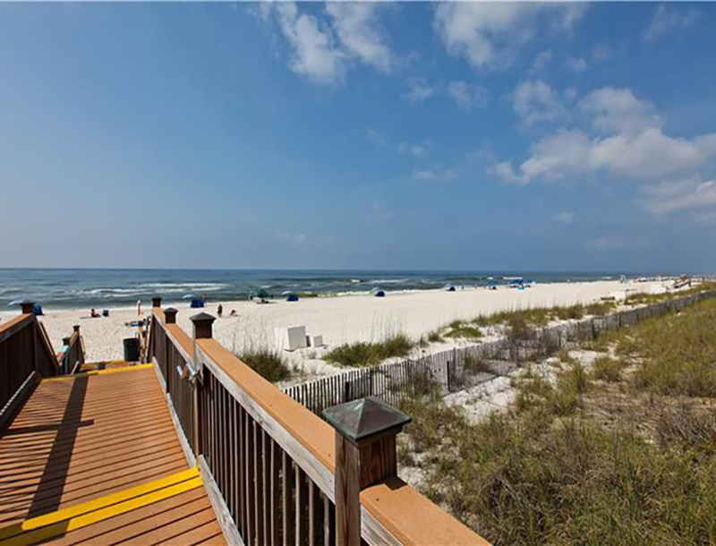 Easy access to the beach from Sandy Key Condominiums Perdido Key Florida
