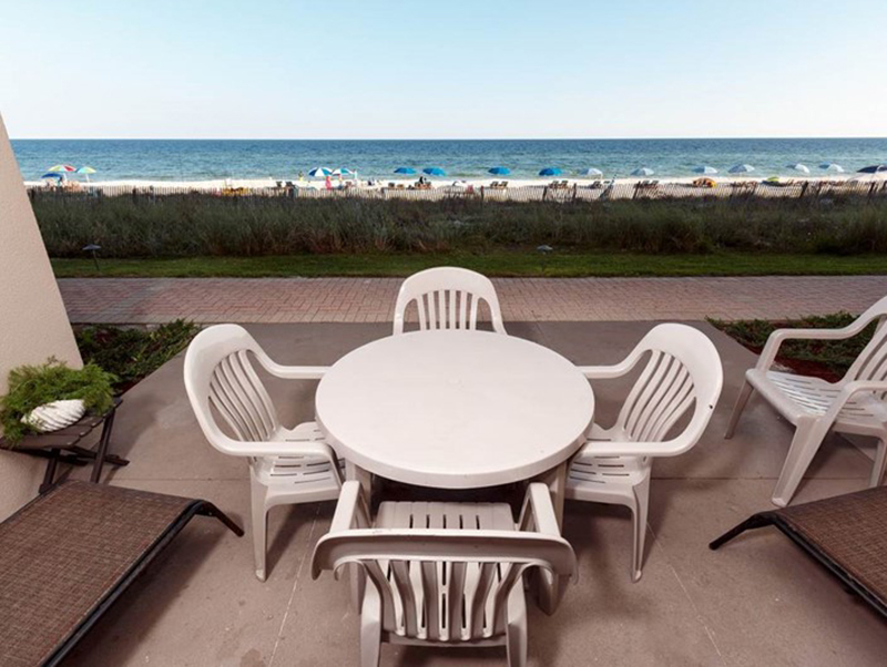 Great view of the Gulf from Easy access to the beach from Sandy Key Condominiums Perdido Key Florida