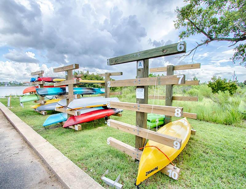 Enjoy kayaking at Seaspray in Perdido Key FL