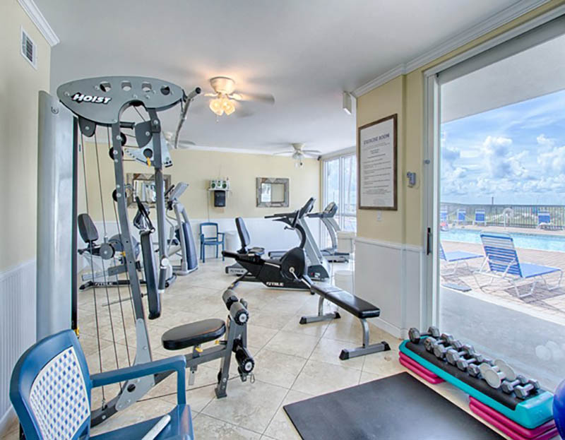 Gym at Seaspray in Perdido Key FL