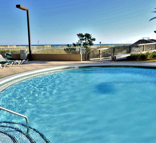 This crisp pool makes you want to dive right in at Spanish Key  in Perdido Key Florida