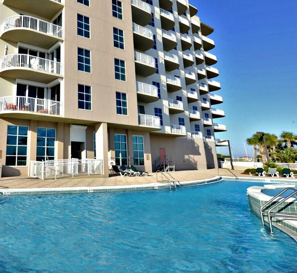 Large pool area at Spanish Key  in Perdido Key Florida