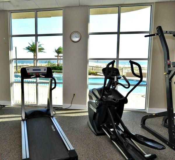 Enjoy a workout at Spanish Key  in Perdido Key Florida