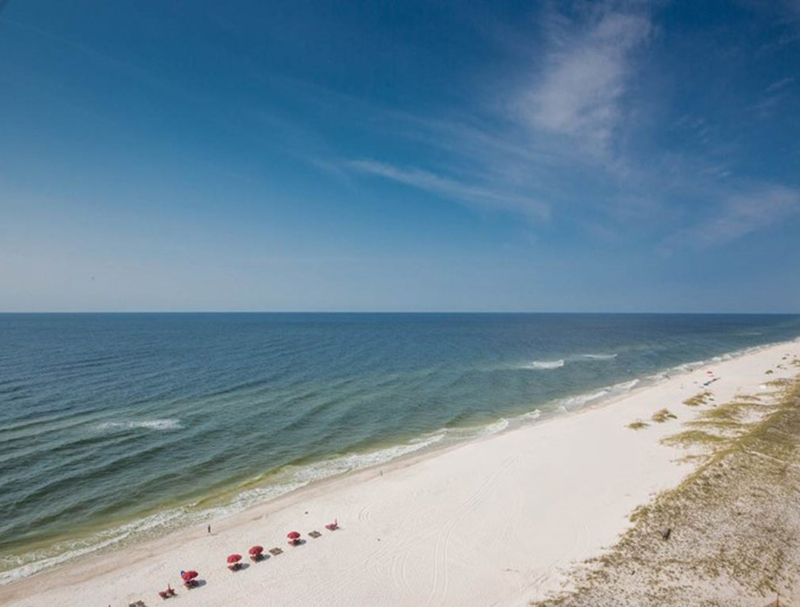 Take in the view at Windemere Condominiums in Perdido Key Florida