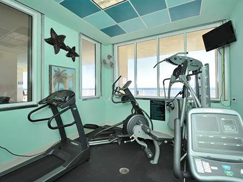 Get your workout in at Windemere Condominiums in Perdido Key Florida