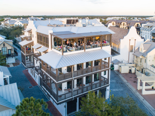 Pescado Seafood Grill & Rooftop Bar in Highway 30-A Florida