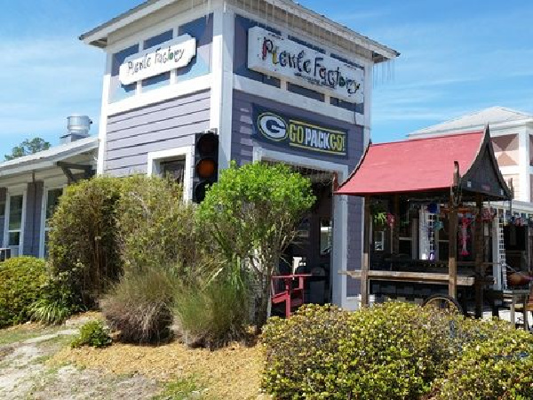 Pickle Factory in Highway 30-A Florida