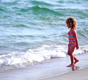 View of ocean at Portofino Island Resort on Pensacola Beach.