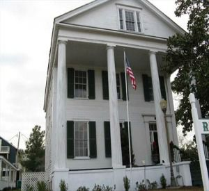 Raney House Museum in Apalachicola Florida