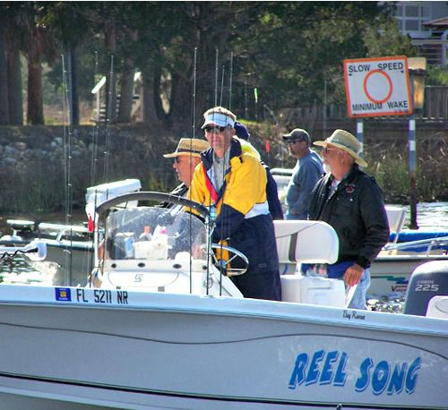 Reel Song Charters in Steinhatchee Florida