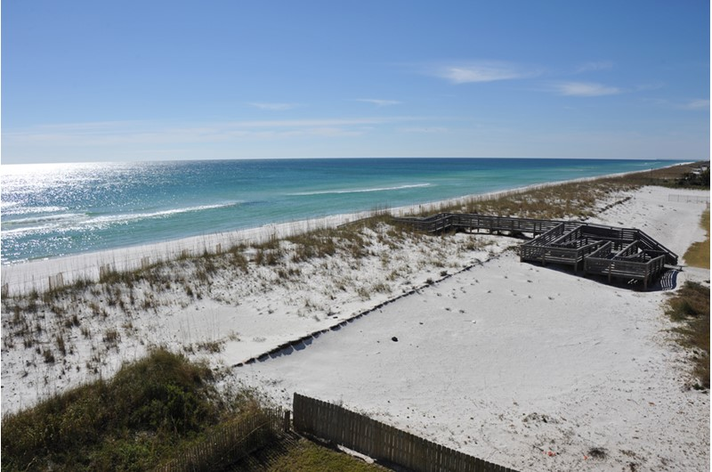 See for miles from Regency Towers in Pensacola Beach Florida