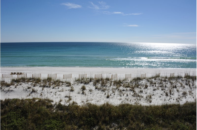 What a fabulous Gulf view from Regency Towers in Pensacola Beach Florida