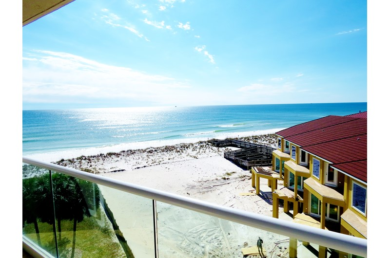 There are lovely views from your condo at Recency Towe in Pensacola Beach FL