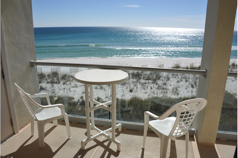 Tremendous views from your balcony at Regency Towers in Pensacola Beach Florida