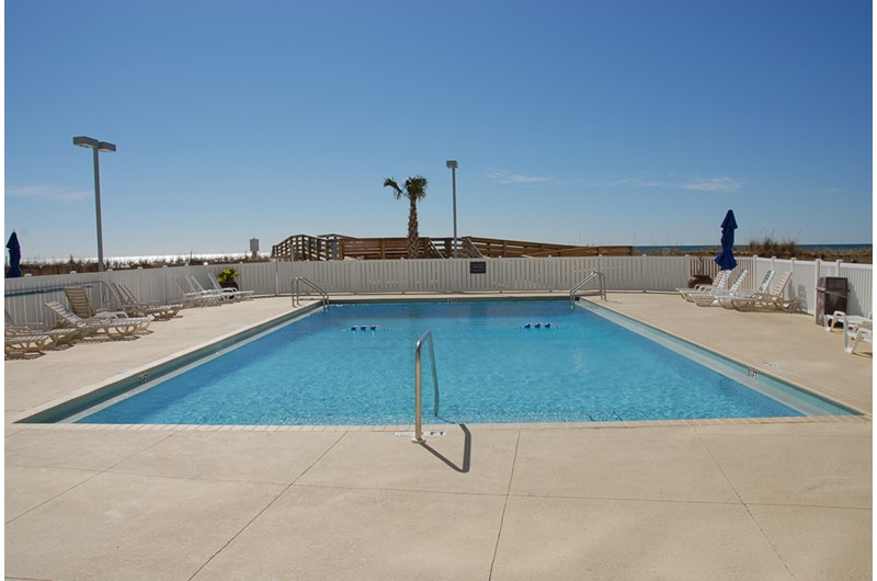 Dip your toes in the pool at Regency Towers in Pensacola Beach Florida