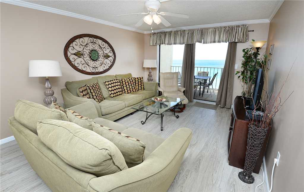 Regency 712 2 Bedrooms Beachfront Wi-Fi Pool Sleeps 8 Condo rental in Regency Towers in Panama City Beach Florida - #3