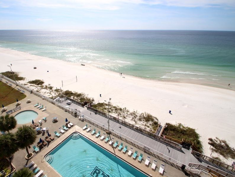 Regency 712 2 Bedrooms Beachfront Wi-Fi Pool Sleeps 8 Condo rental in Regency Towers in Panama City Beach Florida - #21