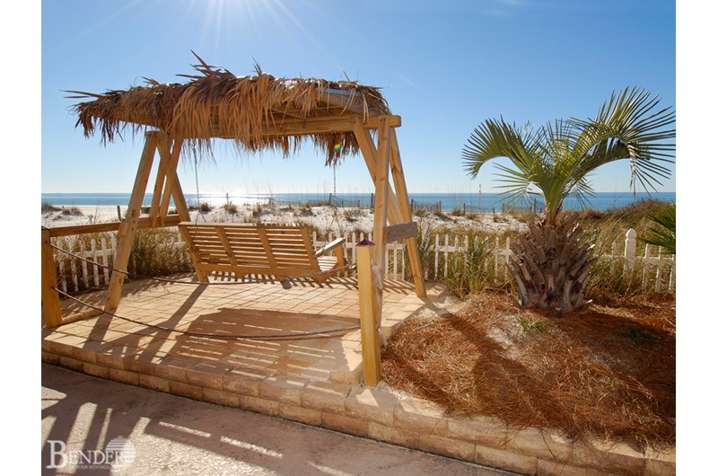 Royal Palms has outdoor area to enjoy in Gulf Shores AL