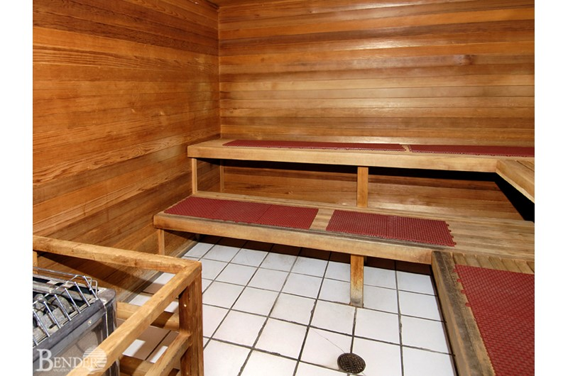 Royal Palms has a lovely sauna for your pleasure in Gulf Shores Al