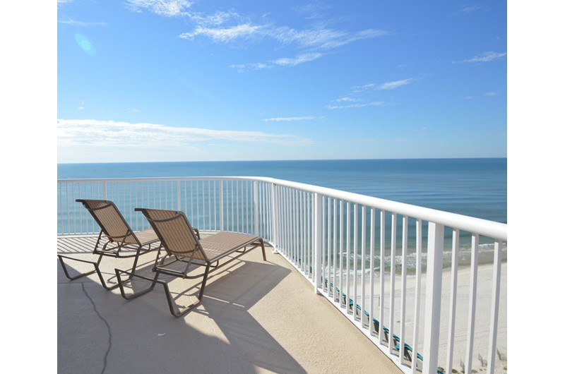 Enjoy thses amazing views from your balcony at Royal Palms in Gulf Shores AL