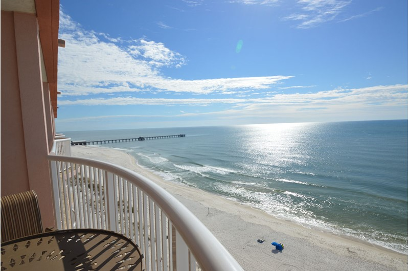 Relax on your Royal Palms balcony in Gulf Shores AL