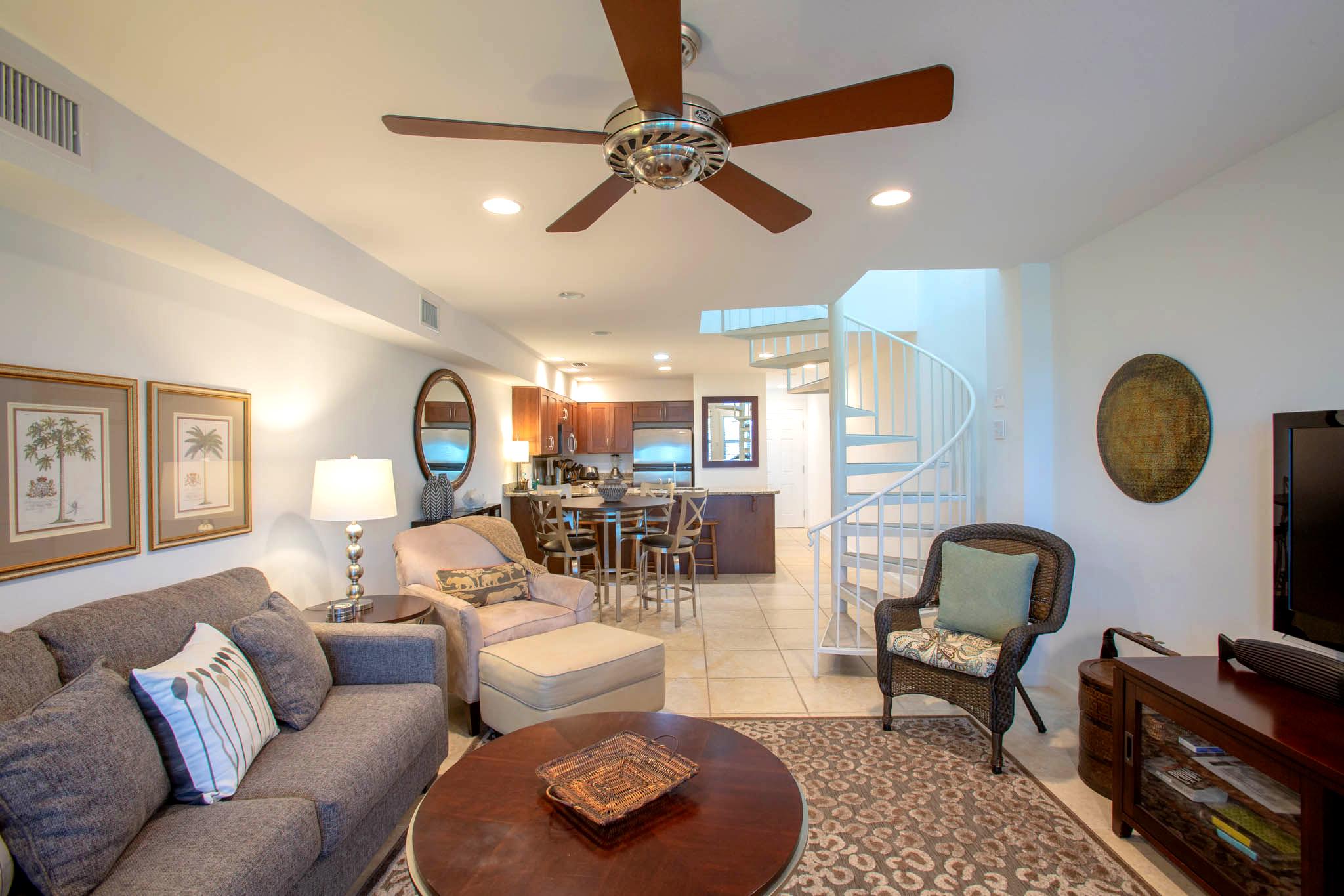 San De Luna #12 Townhouse rental in San DeLuna Pensacola Beach in Pensacola Beach Florida - #2