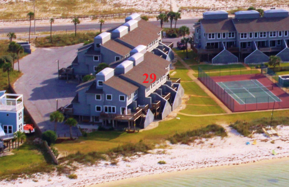 San De Luna #29 Townhouse rental in San DeLuna Pensacola Beach in Pensacola Beach Florida - #3