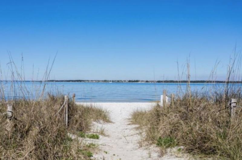 San DeLuna Beach Access Pensacola Beach