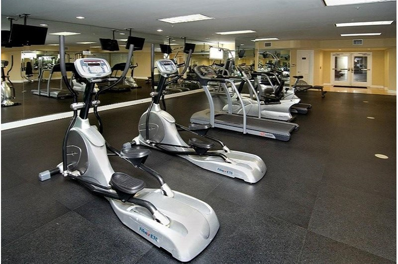 Fitness room for guests at Sanctuary at Redfish on Hwy 30a