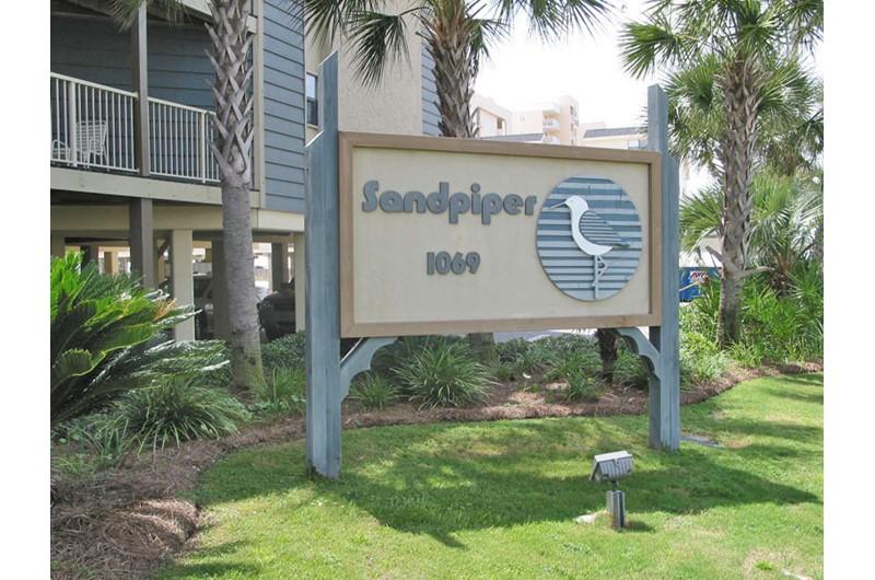 Sandpiper in Gulf Shores AL