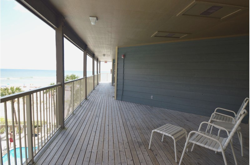 Take in the view off your balcony at Sandpiper Condominiums in Gulf Shores AL