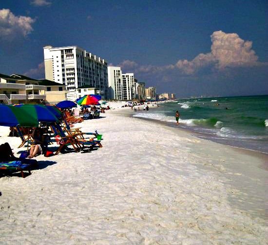 Beach at Sandpiper Cove in Destin Florida