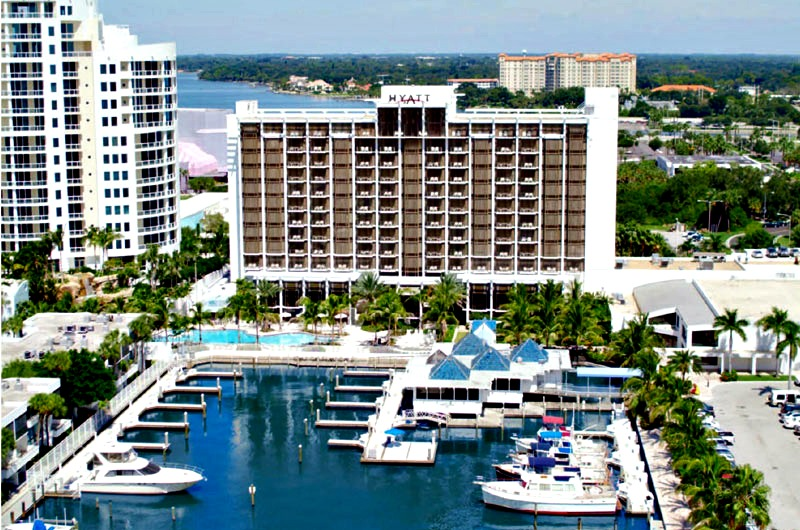 Hyatt Regency on the bay in Sarasota FL