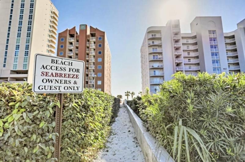 Seabreeze Condos Beach Access Gulf Shores