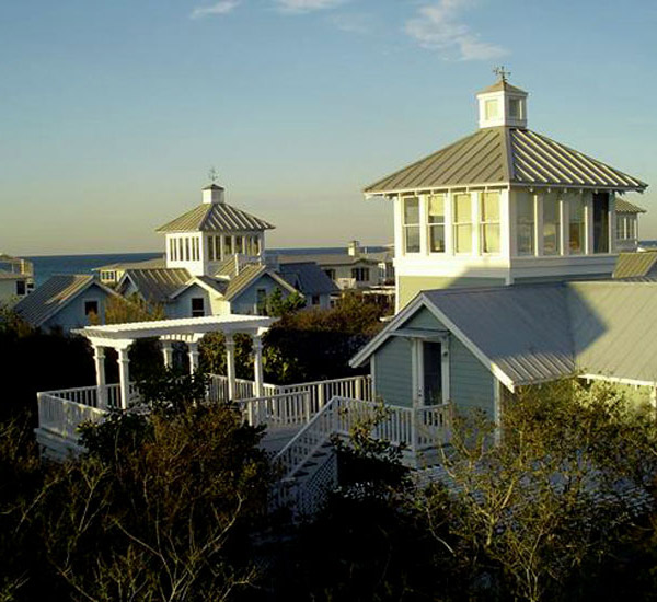 Seaside Vacation Homes aerial view